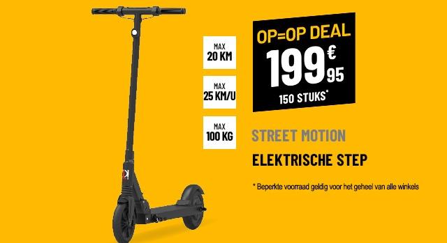 Trottinette électrique Street Motion