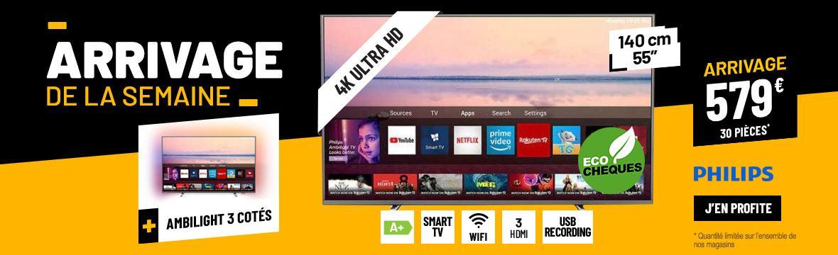 TV 4K PHILIPS 55PUS6754 SMART WIFI