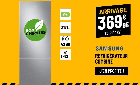 RÉFRIGÉRATEUR COMBINÉ SAMSUNG RB3VRS150SA