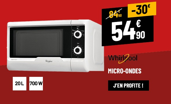 MICRO-ONDES WHIRLPOOL MWD119WH