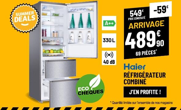 Réfrigérateur 3 portes HAIER A3FE735CMJ