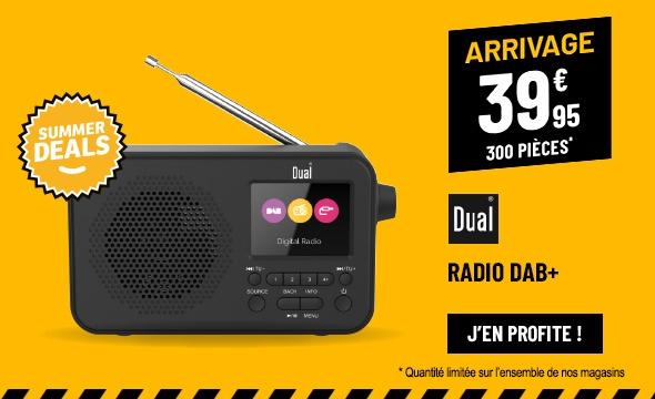 Radio DUAL DL DAB205