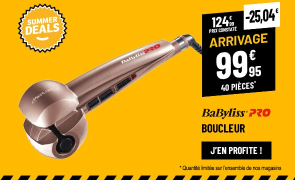 Fer A Boucleur BABYLISS MIRACURL BAB2665 PINK