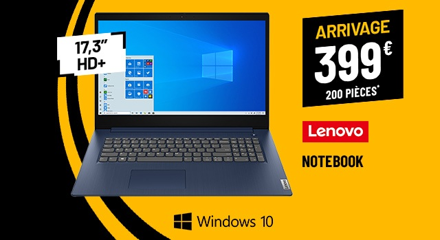 Ordinateur Portable  17,3 LENOVO Ideapad 3 17ADA05-BE