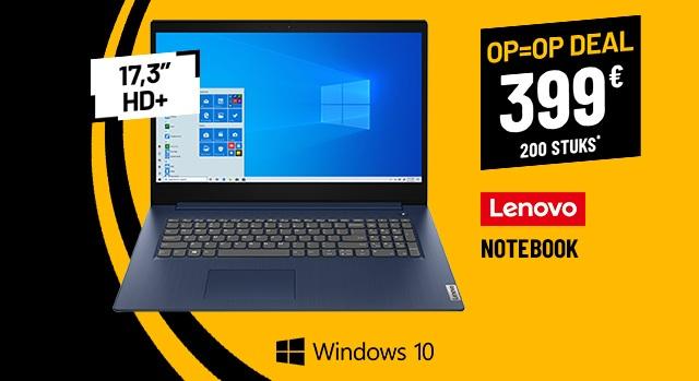 Ordinateur Portable  17,3 LENOVO Ideapad 3 17ADA05-BE