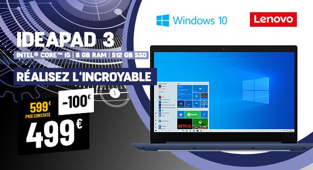 PC Portable LENOVO IdeaPad 3 15IIL05-BE