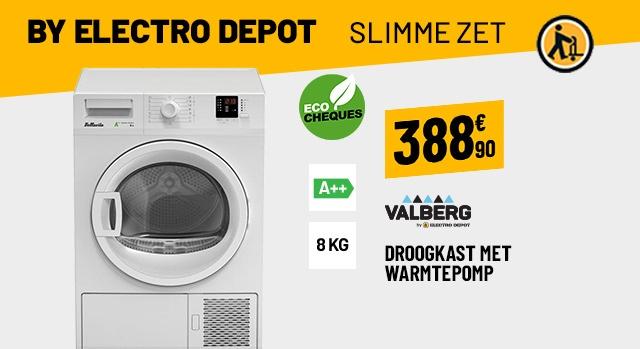 Sèche-Linge 8 Kg BELLAVITA DHP 8 A++ W205T2