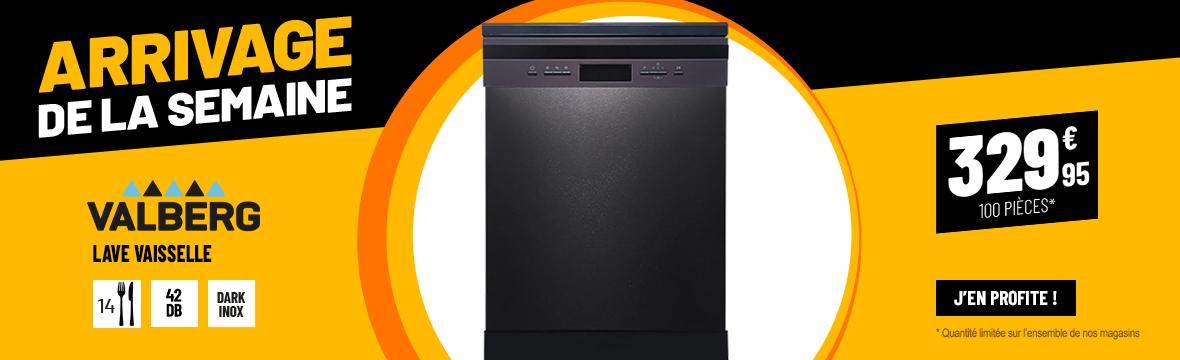 Lave-vaisselle 14 couverts VALBERG 14S42 D DXAD929C