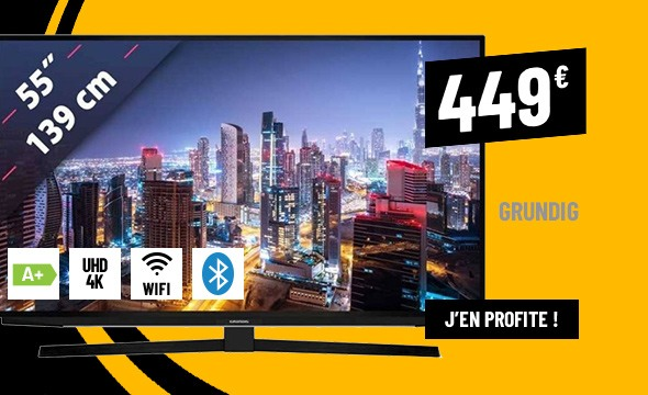 TV UHD 4K GRUNDIG 55GUB7040 SMART WIFI