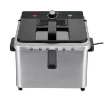 Friteuse COSYLIFE CL-FR5X2 inox 5L