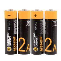 Batterij ELECTRO DÉPÔT Alkaline LR6 x4