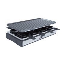 Raclette COSYLIFE CL-R8P + grill + steengrill 8 personen