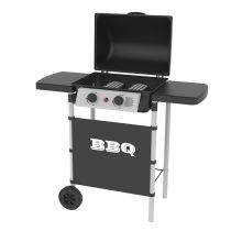Gasbarbecue SILVER STYLE 2 branders
