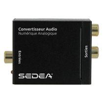Adaptateur SEDEA OPTIQUE COAXIAL/RCA