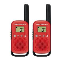 Walkie Talkie MOTOROLA T42 RED x 2