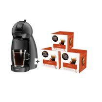 Espressomachine KRUPS YY4212FD Piccolo + 3 dozen