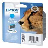Inktpatroon EPSON T0712 Luipaard Cyaan