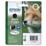 Inktpatroon EPSON T1281 Vos Zwart