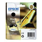 Inktpatroon EPSON Vulpen T1631 Zwart