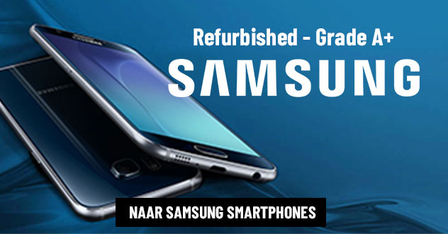 Refurbished Samsung smartphones