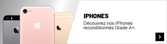 iPhones reconditionnés