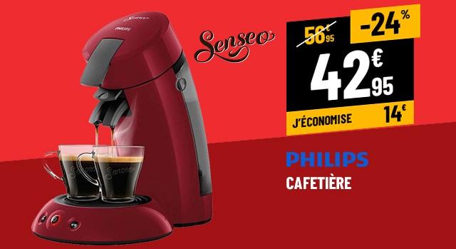 CAFETIÈRE SENSEO HD6553/81 ROUGE