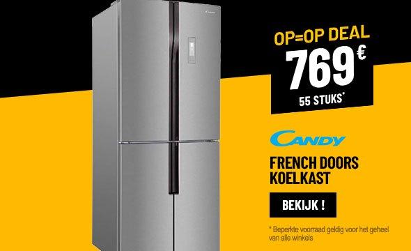FRENCH DOOR KOELKAST CANDY CFDN 180 EU/1