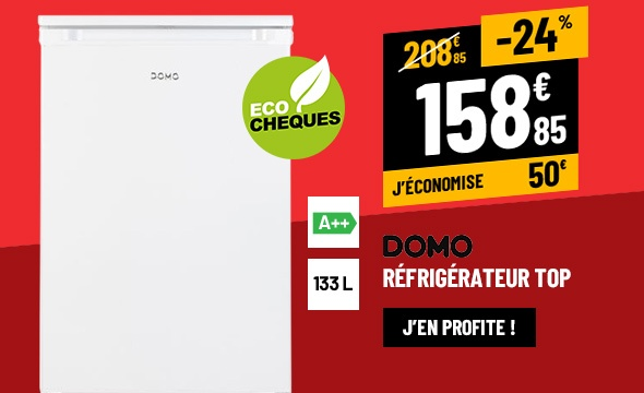 RÉFRIGÉRATEUR TOP DOMO DO942F