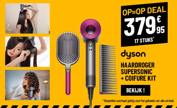 Haardroger DYSON SUPERSONIC HD01 + KIT COIFFURE