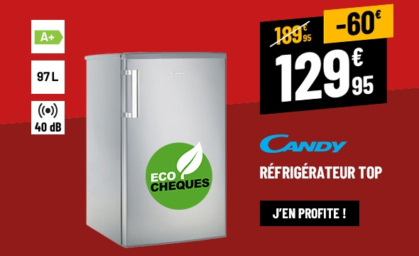 RÉFRIGÉRATEUR TOP CANDY CCTOS 502SH