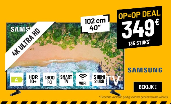 TV UHD 4K SAMSUNG UE40NU7110 SMART WIFI