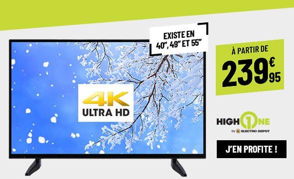 TV UHD 4K HighOne