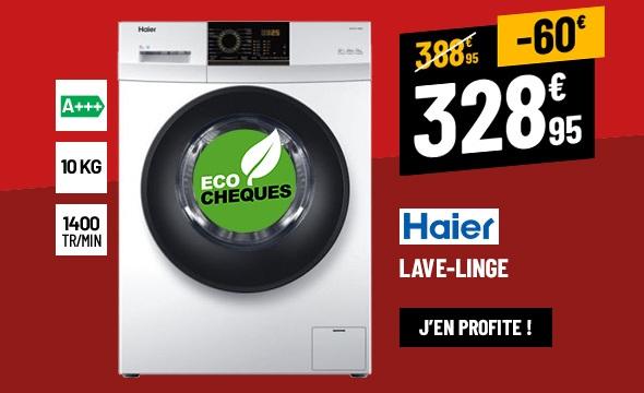 LAVE-LINGE HUBLOT 10 KG HAIER HW100-14829
