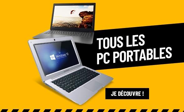 TOUS LES PC PORTABLES