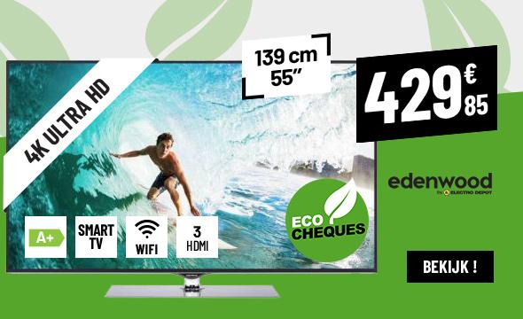 TV UHD 4K EDENWOOD ED5503 HDR CONNECTED
