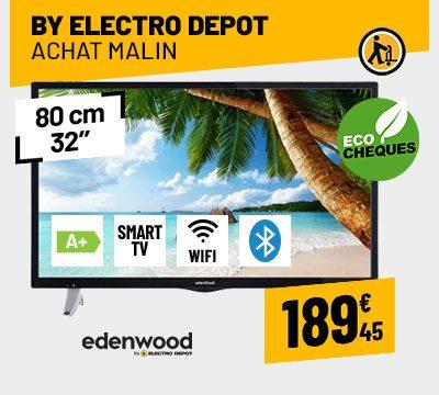 TV LED EDENWOOD ED3207HD CONNECTÉE