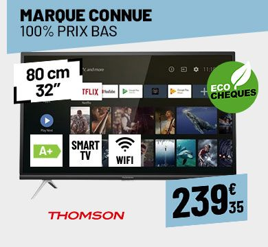 TV LED THOMSON 32HZ5006 HD ANDROID WIFI DLNA