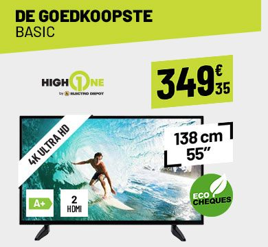 TV UHD 4K HIGH ONE HI5502-VE
