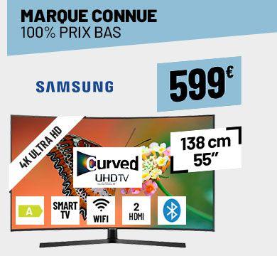 TV UHD 4K SAMSUNG UE55NU7500