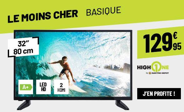TV LED HIGH ONE HI3203HD