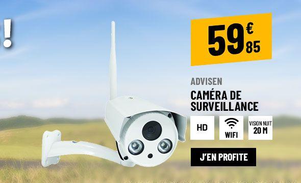 CAMÉRA DE SURVEILLANCE AVIDSEN FIXE EXTERIEURE WIFI HD