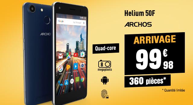 MOBILE ARCHOS 50F HELIUM 4G BLEU