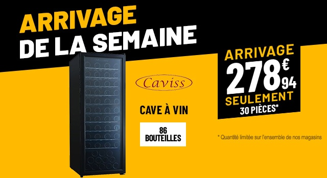 CAVE À VIN CAVISS S186TFE3