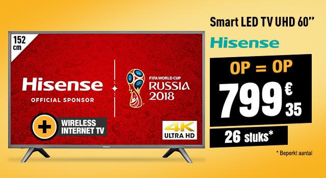 TV UHD 4K HISENSE 60NEC5600 SMART HDR