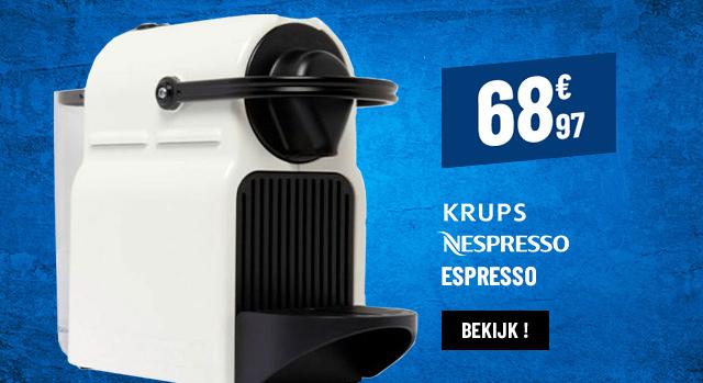KOFFIEZET MET CAPSULES KRUPS INISSIA YY1530