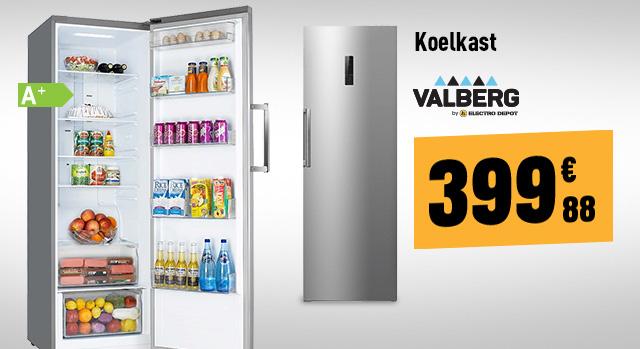 Koelkast VALBERG VAL 1PUV 360 A+ SHC