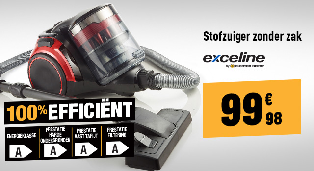 Stofzuiger Exceline CYCLOPRENIUM-03