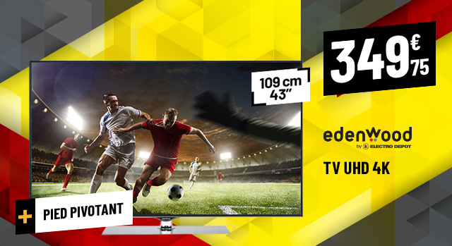 TV UHD 4K EDENWOOD ED4301UHD