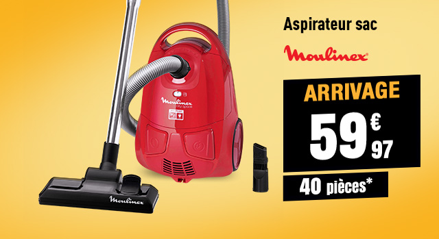 Aspirateur MOULINEX MO2423 City Space