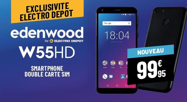 SMARTPHONE EDENWOOD W55HD
